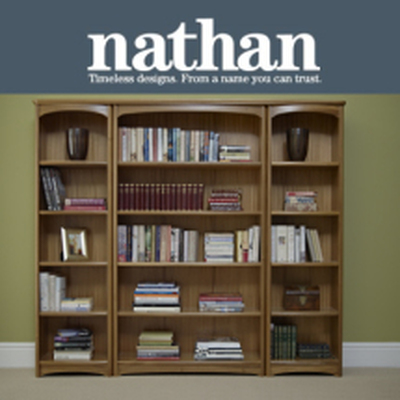 Nathan Editions Range of Bookcases | R.G Cole Furniture