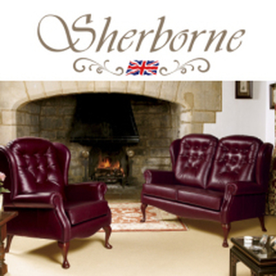 Lynton Hide Fireside by Sherborne