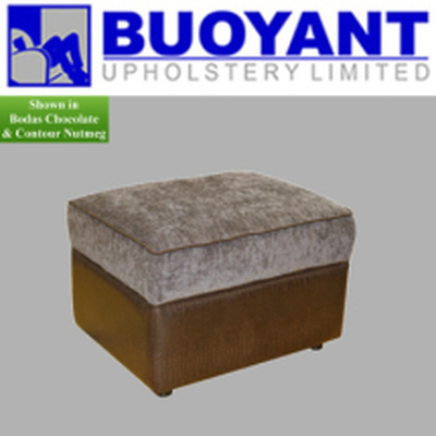 Storage Footstool by Buoyant Upholstery