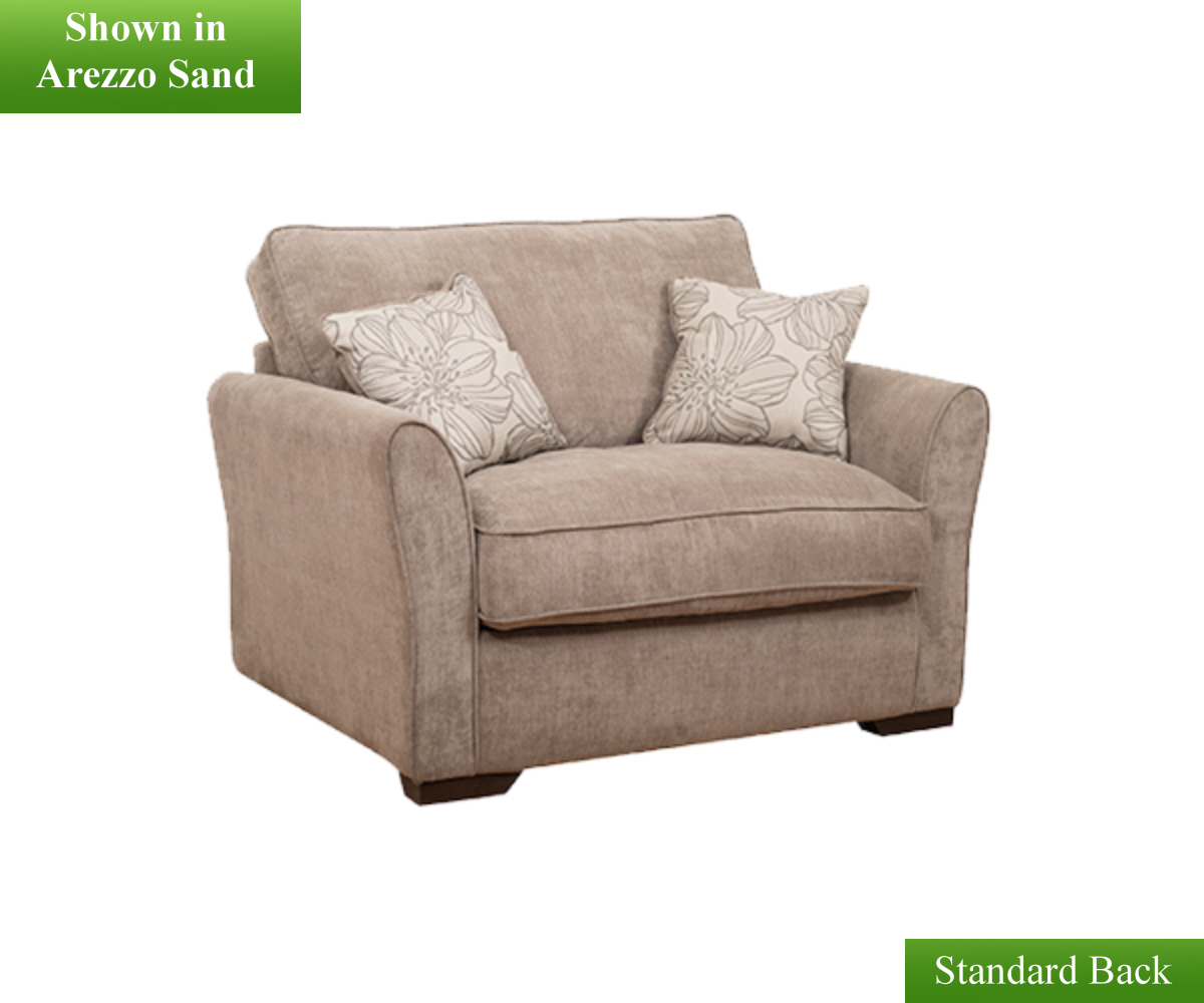 Buoyant Fairfield Plain 1 Seater Sofa Bed