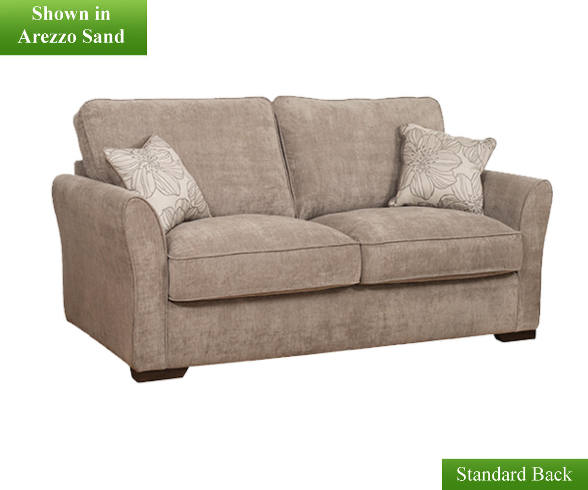 Buoyant fairfield plain 2 seater sofa bed fairfield for Sofa bed 2 seater