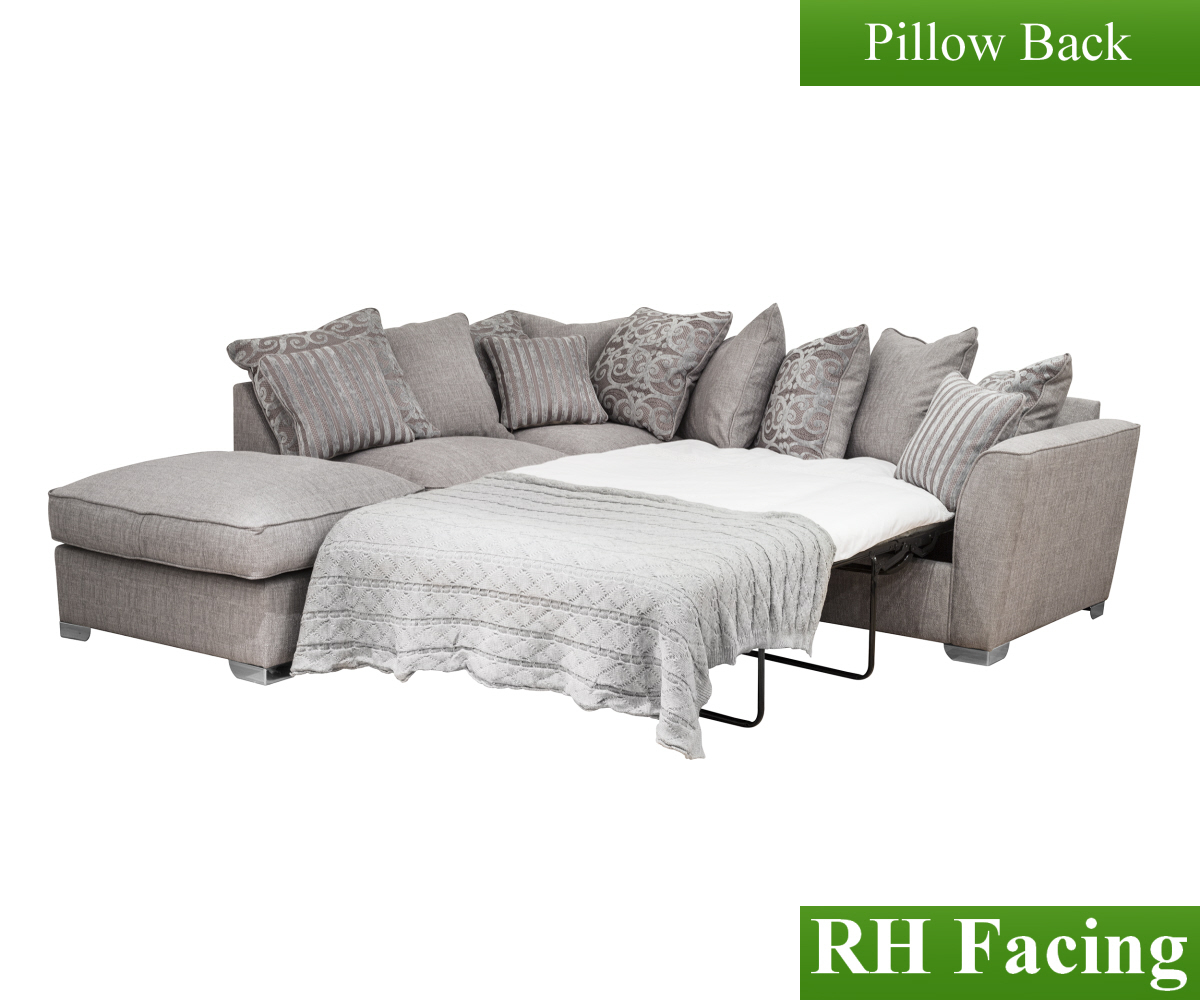 Buoyant Fantasia Full Corner Group F with Poufee & Sofa Bed