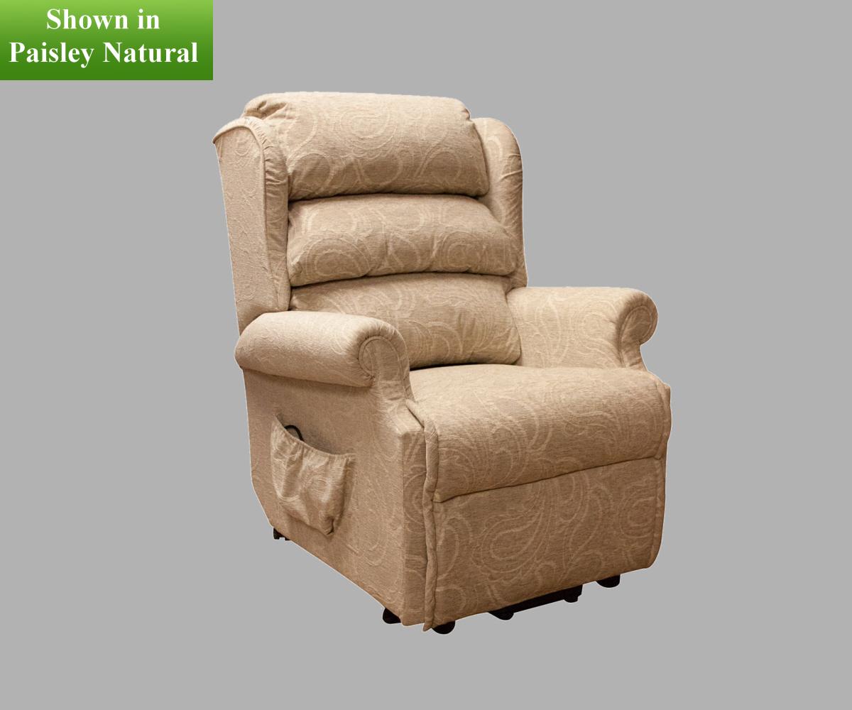 Buoyant hampton dual motor lift and rise recliner chair for Dual motor recliner chairs