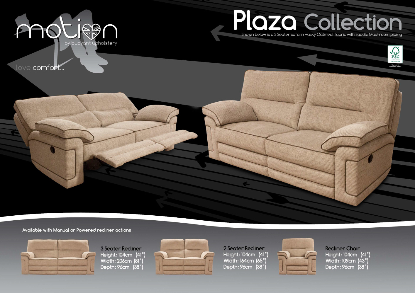 Buoyant Plaza 2 Seater Electric Reclining Sofa : 2 seater electric recliner sofa - islam-shia.org