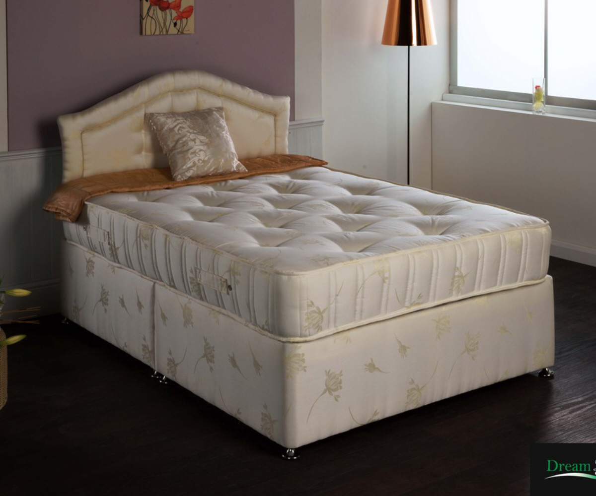 Dreamland Luxury Supreme Pocket Mattress ly