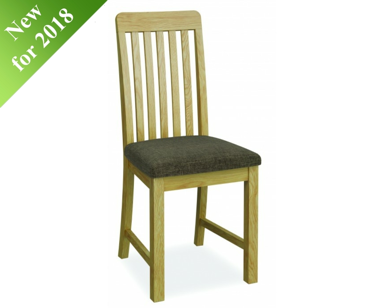 Intotal Battersea Vertical Slat Dining Chair