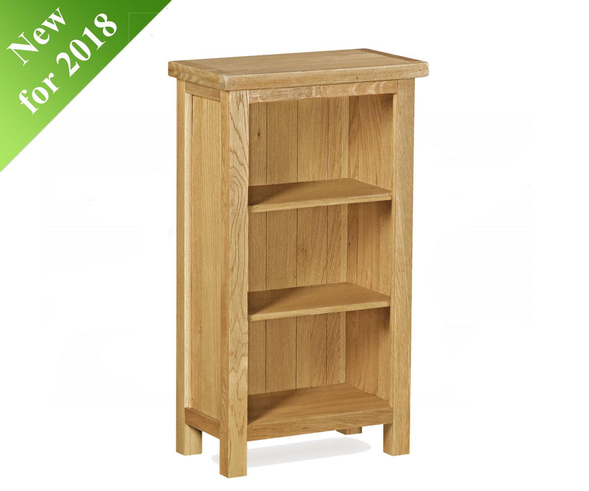 Intotal Little Baddow Low Narrow Bookcase
