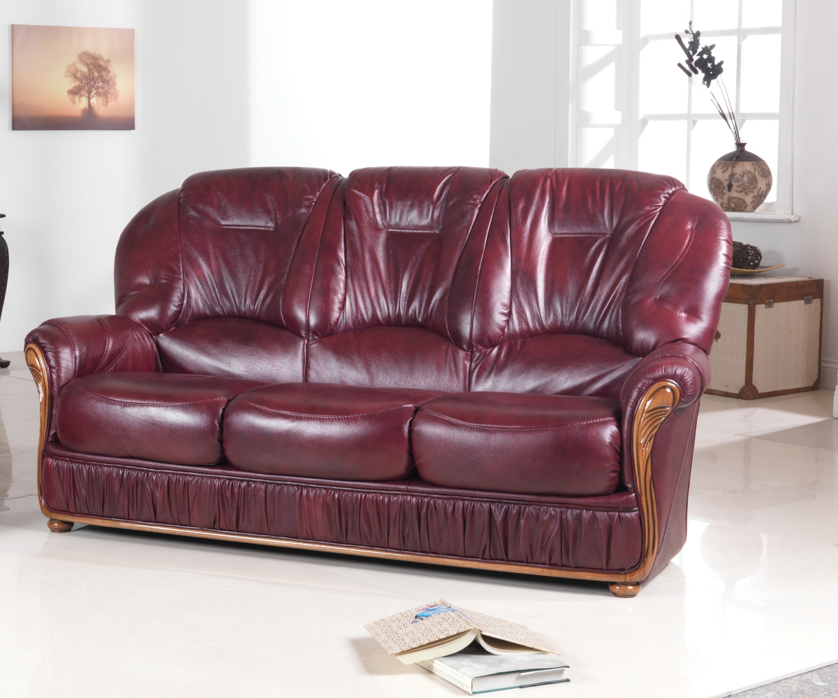 Red Rose Debora 3 Seater Sofa
