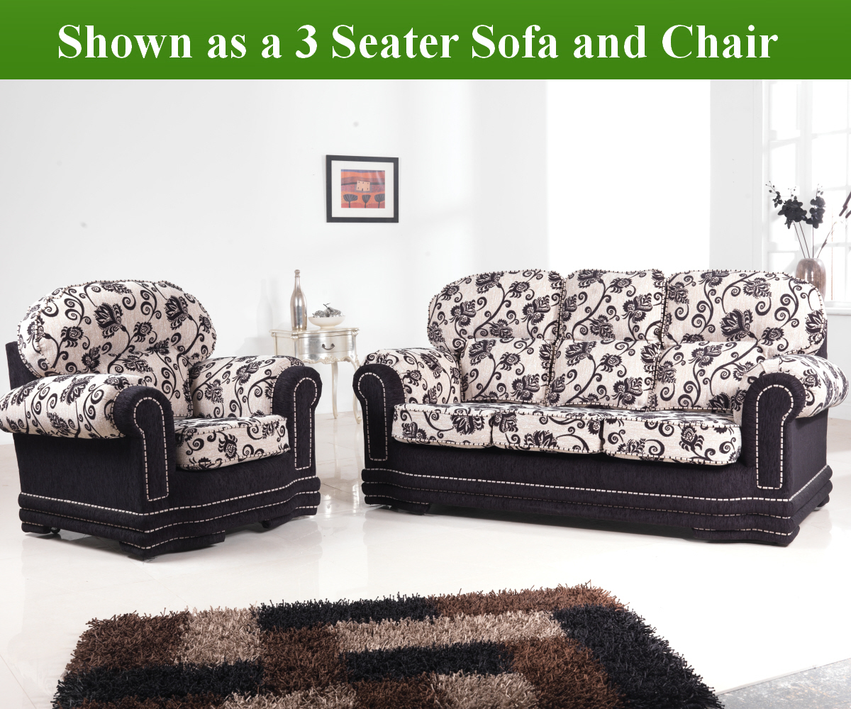 Red Rose Maria 2 Seater Sofa Bed