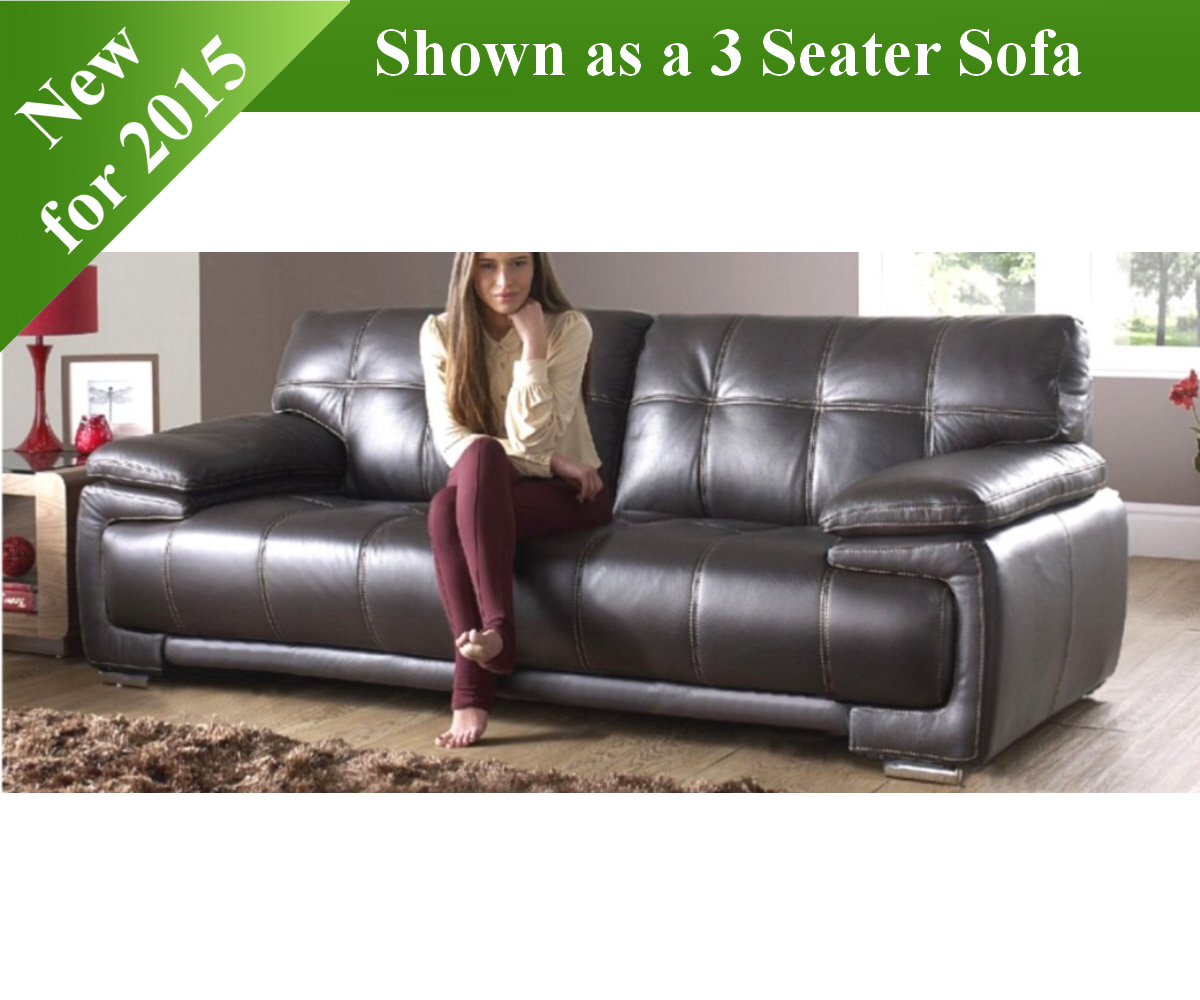 Red Rose Vogue 3 Seater Sofa and 2 Seater Sofa