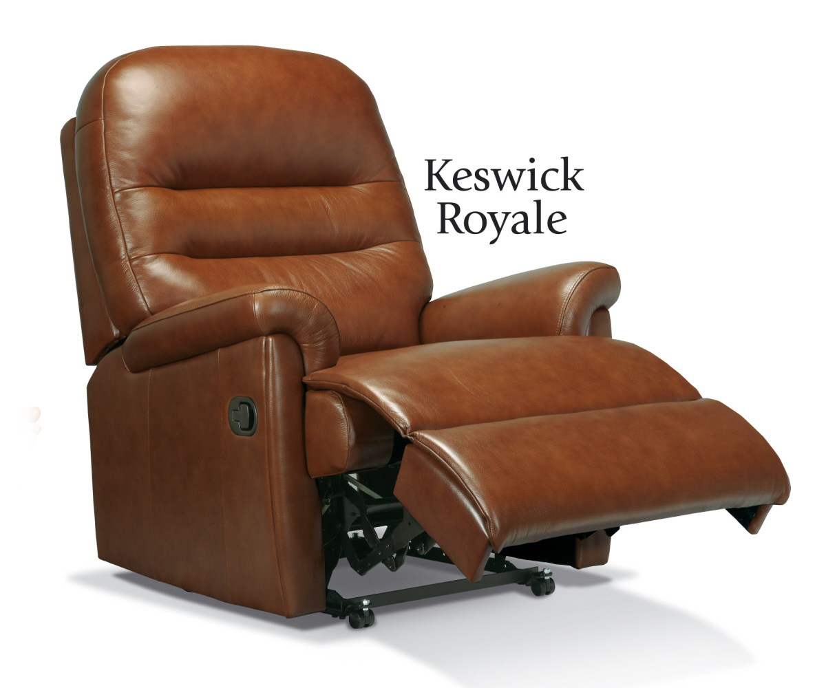 Sherborne Keswick Hide Royale Recliner Chair Manual or Electric Option