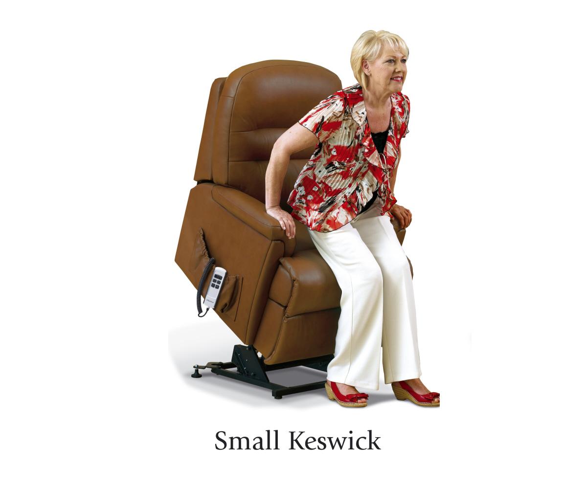sherborne keswick hide small lift and tilt recliner single o