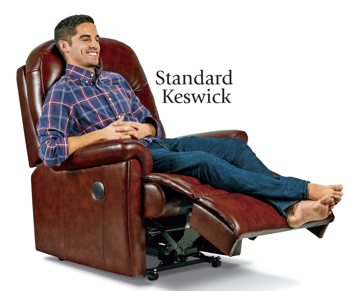 Sherborne Keswick Hide Standard Recliner Chair Manual or Electric Option