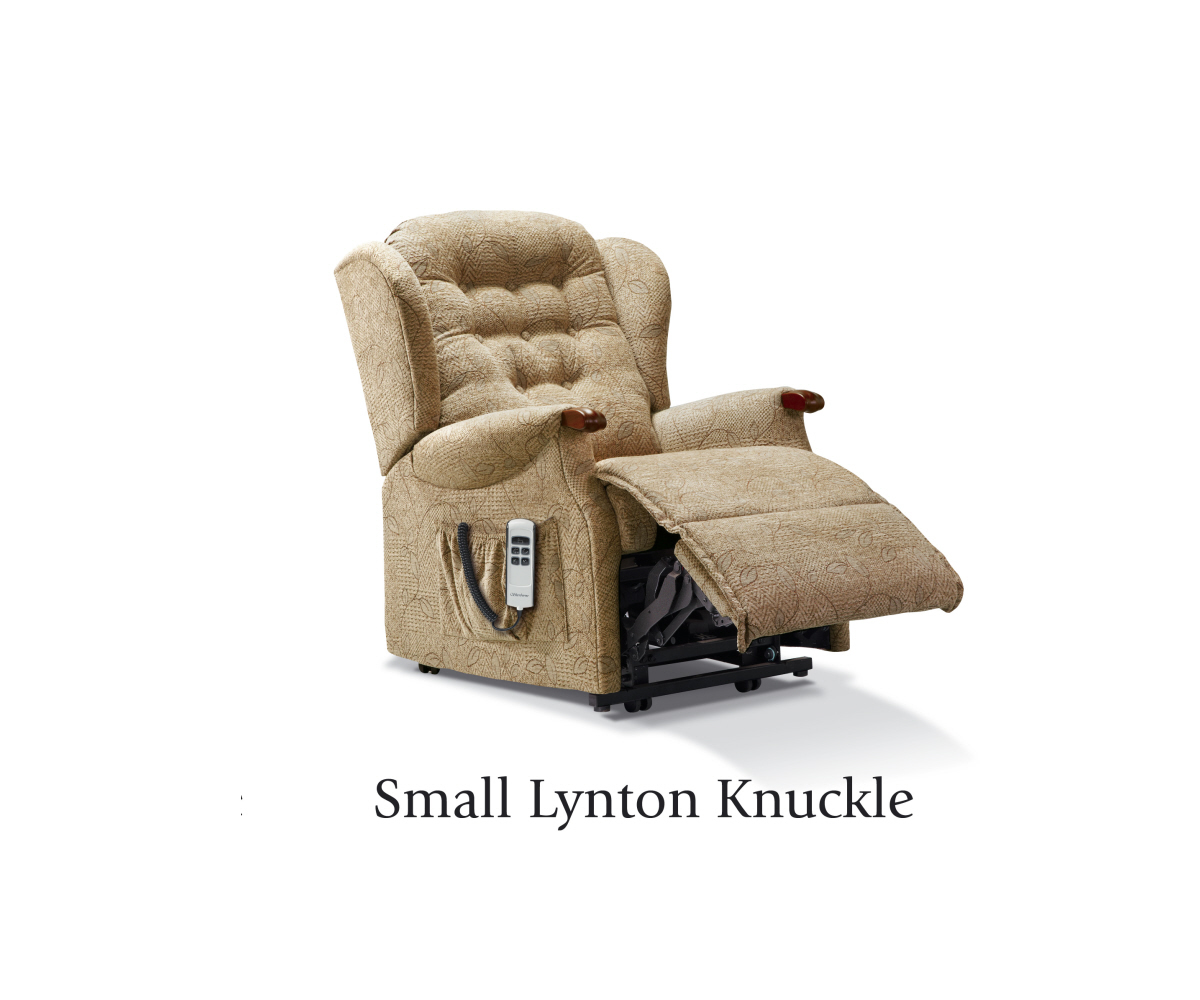 Sherborne Lynton Knuckle Small Lift and Tilt Recliner Single or Dual Motor Option