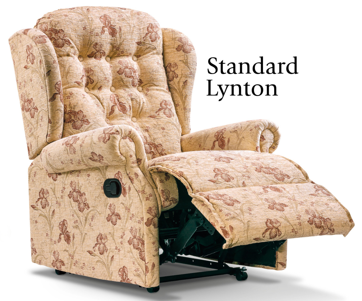 Sherborne Lynton Standard Recliner Chair Manual or Electric Option