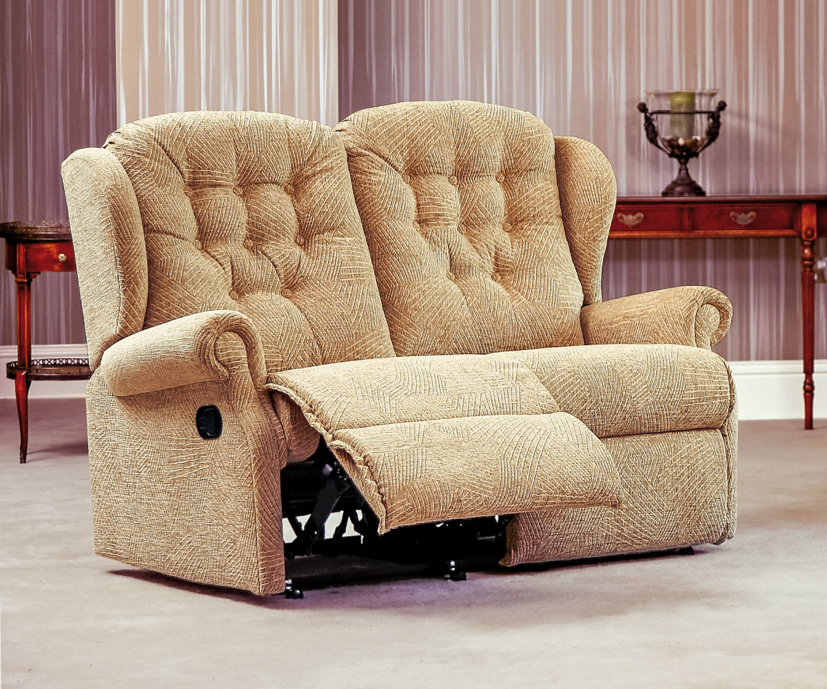 Sherborne Lynton Standard Reclining 2 Seater Sofa Manual or Electric Option