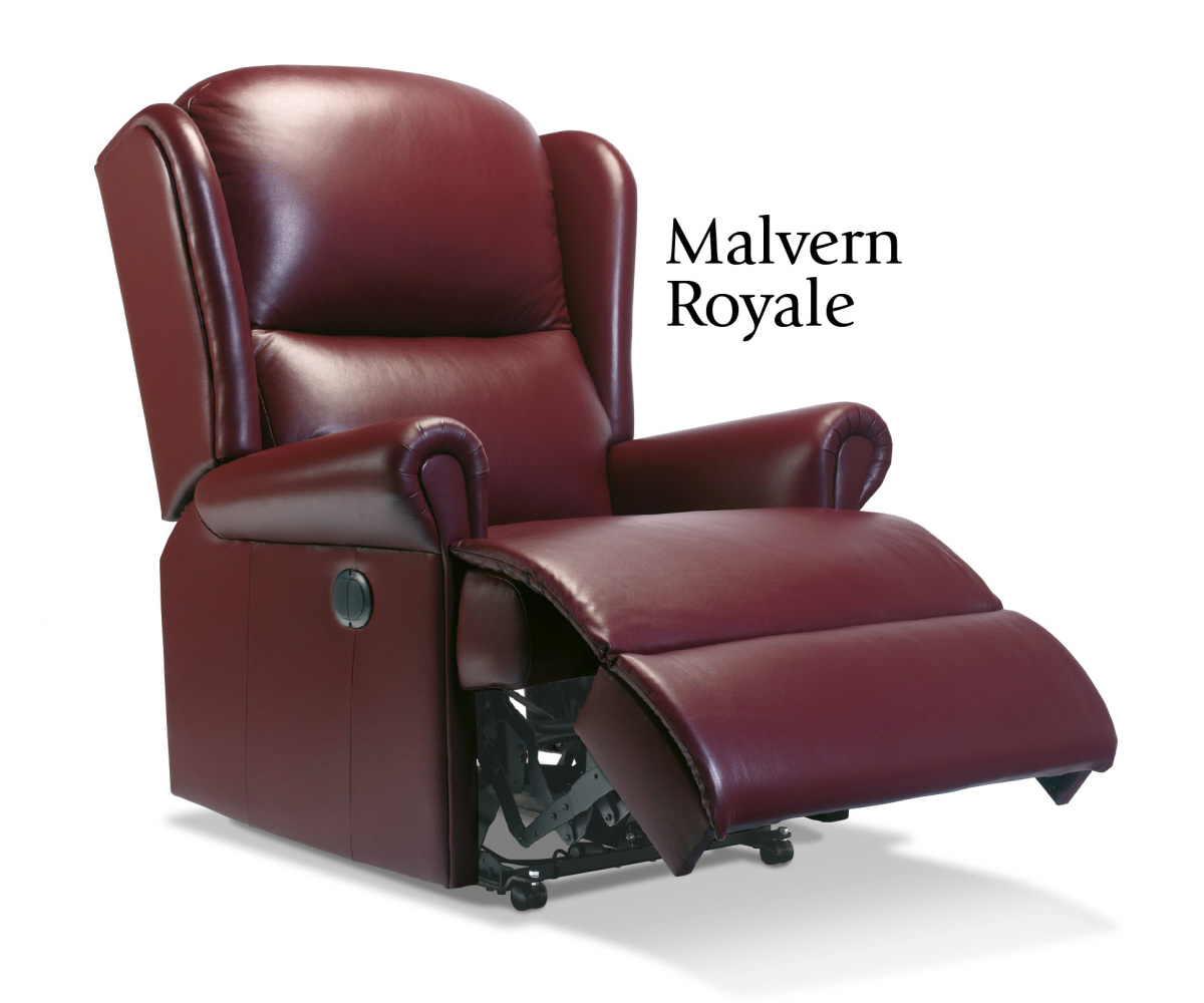 Sherborne Malvern Hide Royale Recliner Chair Manual or Electric Option