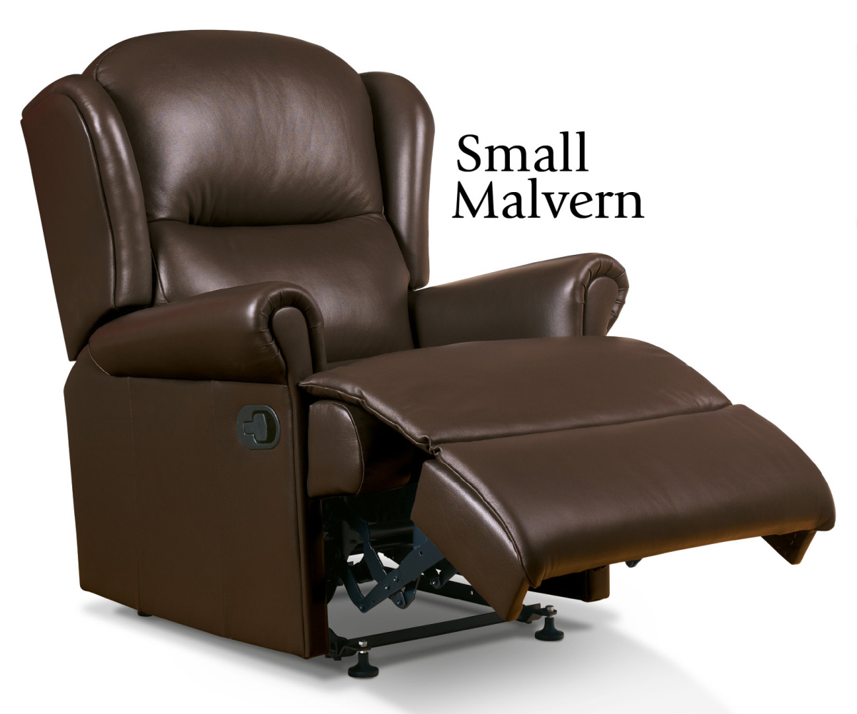 Sherborne Malvern Hide Small Recliner Chair Manual or Electric Option