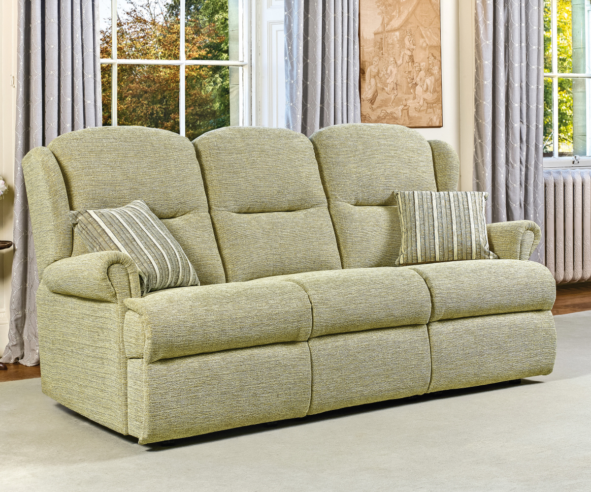 Sherborne Malvern Small Reclining 3 Seater Sofa Manual or Electric Option