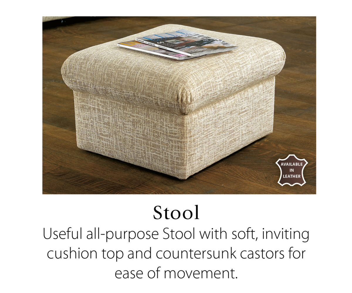 Sherborne Universal Stool with Storage Option