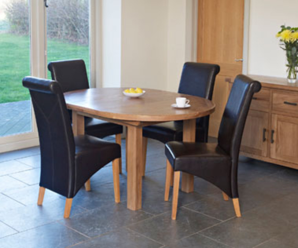 Hampshire Circle Ext Dining Table - Dining Tables