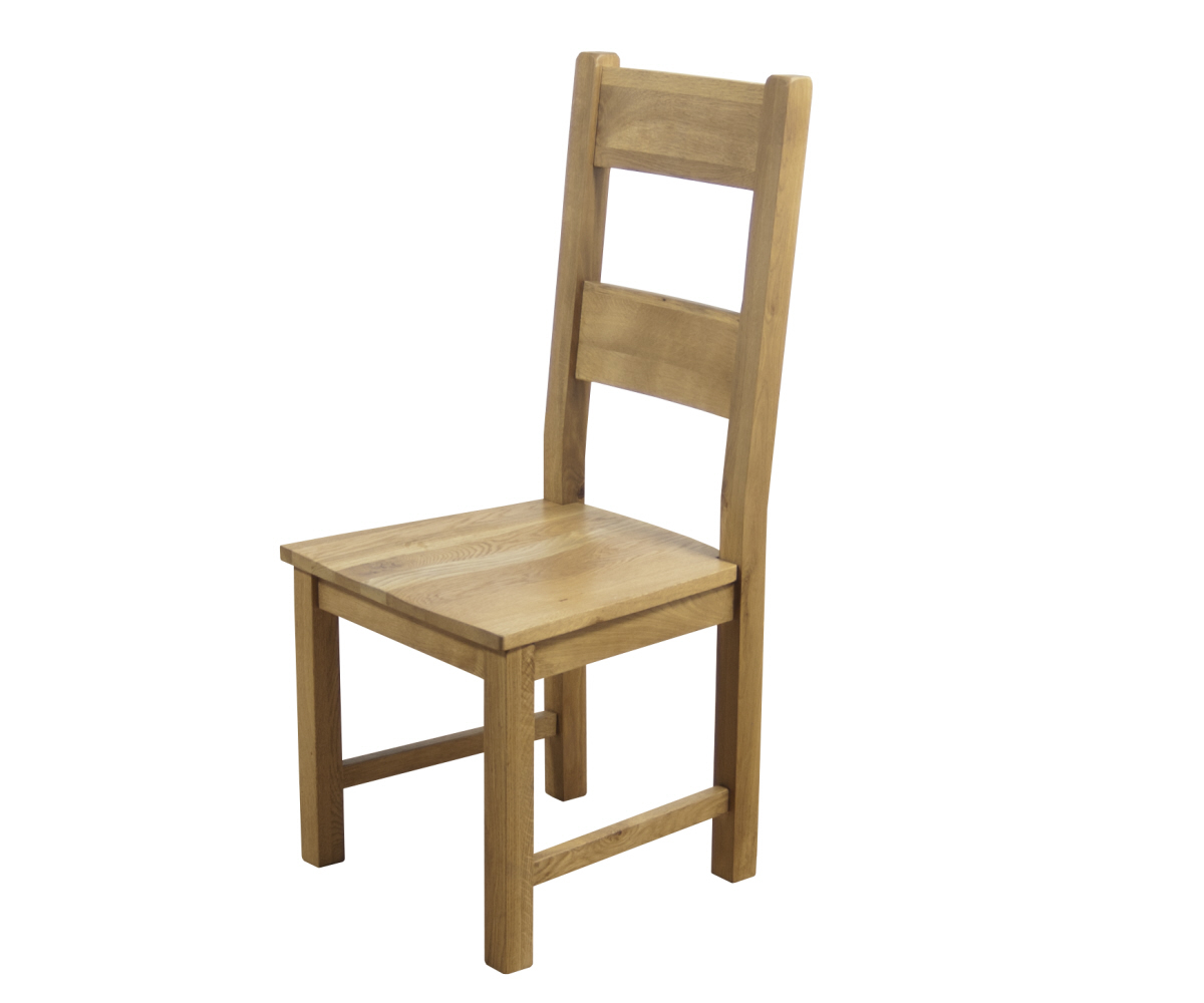 Hampshire Wooden Seat Dining Chair (PAIR)