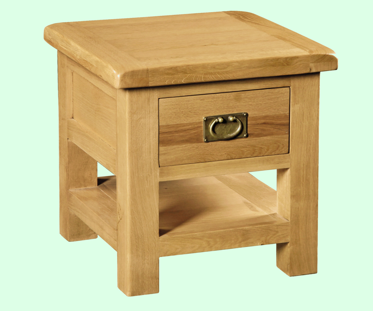 Intotal Great Baddow Lamp Table with drawer