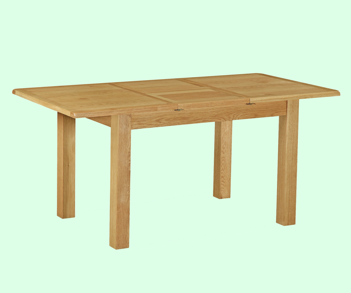 Intotal little baddow compact extending table dining for Compact dining table
