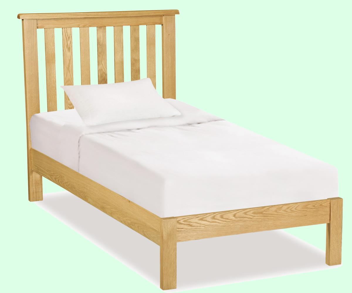 Intotal Little Baddow Low End Bedframe Freestanding Bed Frames RG Cole Fu