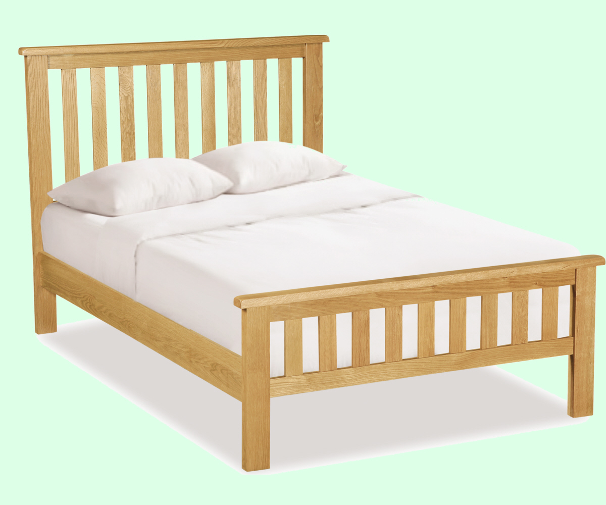 Intotal Little Baddow Slatted Bedframe