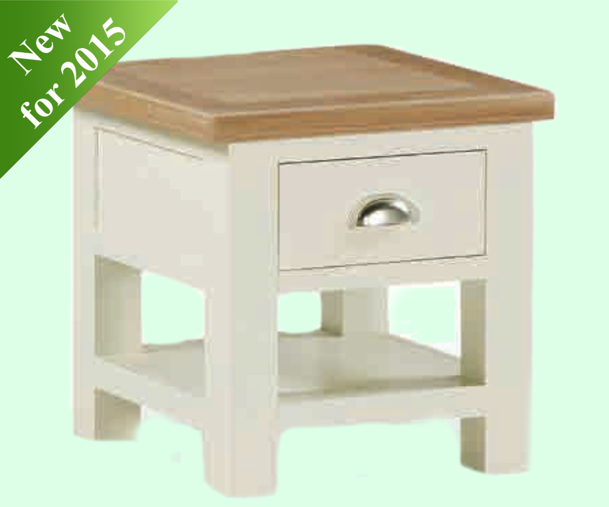 Intotal Sudbury Lamp Table with Drawer