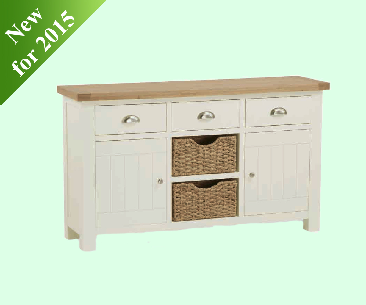 Intotal Sudbury Large Sideboard with Baskets