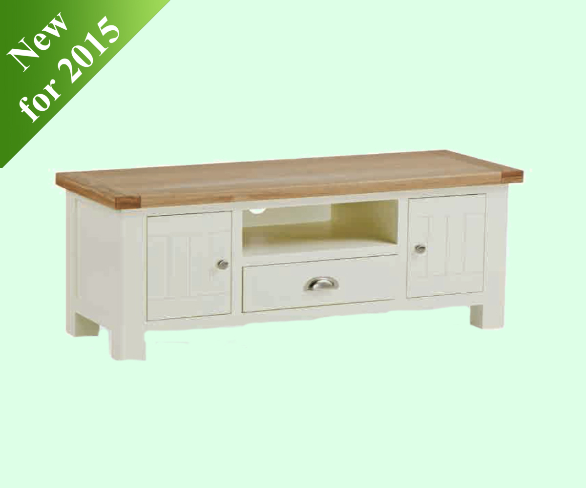 Intotal Sudbury Large TV Unit with Drawer