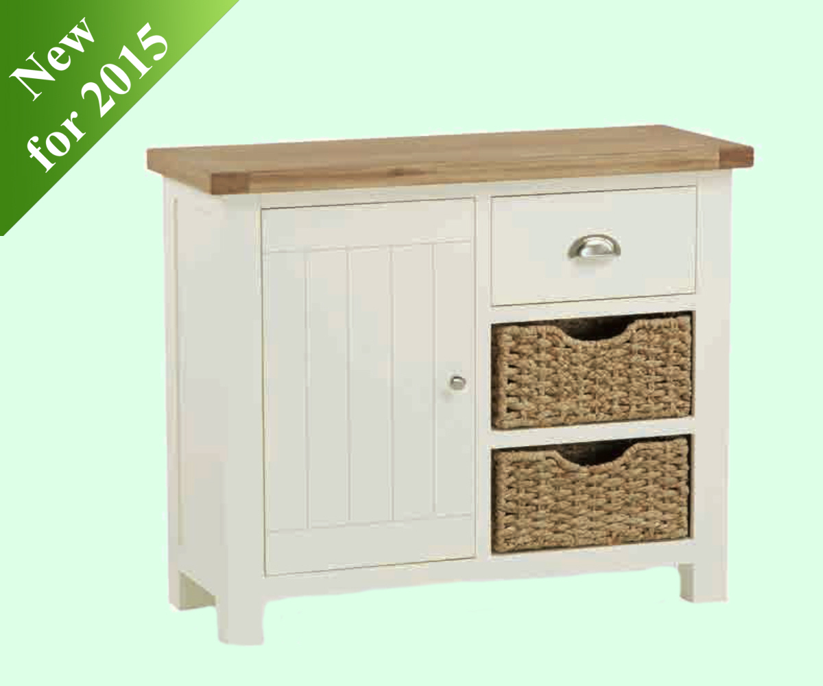 Intotal Sudbury Small Sideboard with Baskets