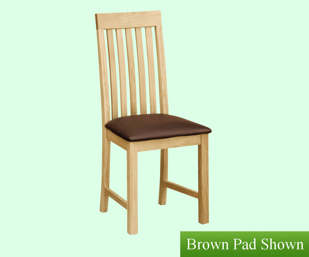 Intotal Tarrington Vertical Slatted Dining Chair