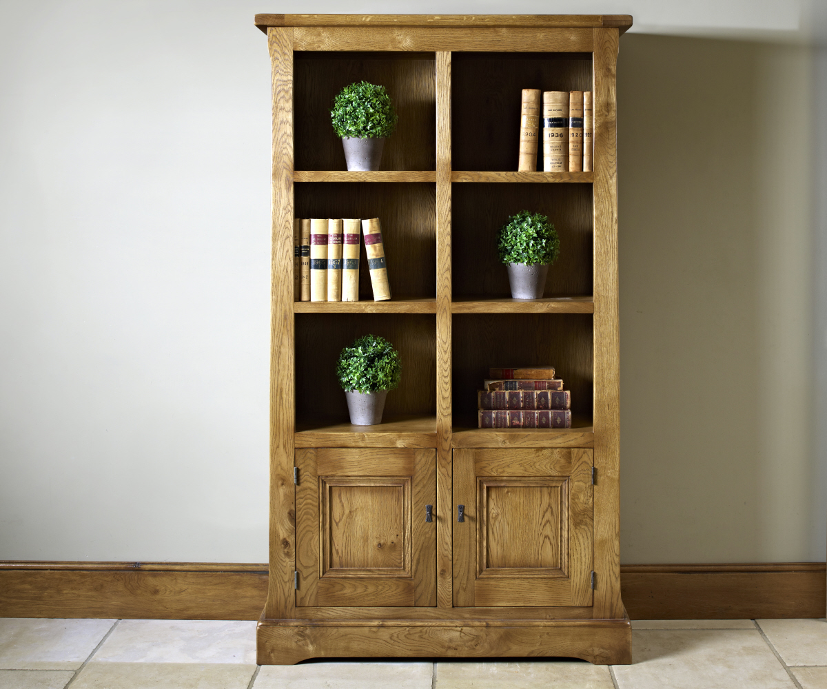 Old Charm Chatsworth 2882 Bookcase with Doors