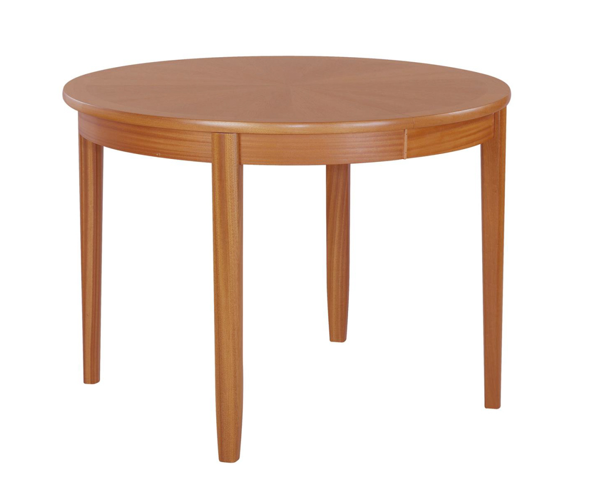 Nathan Classic Teak 2134 Circular Dining Table on Legs