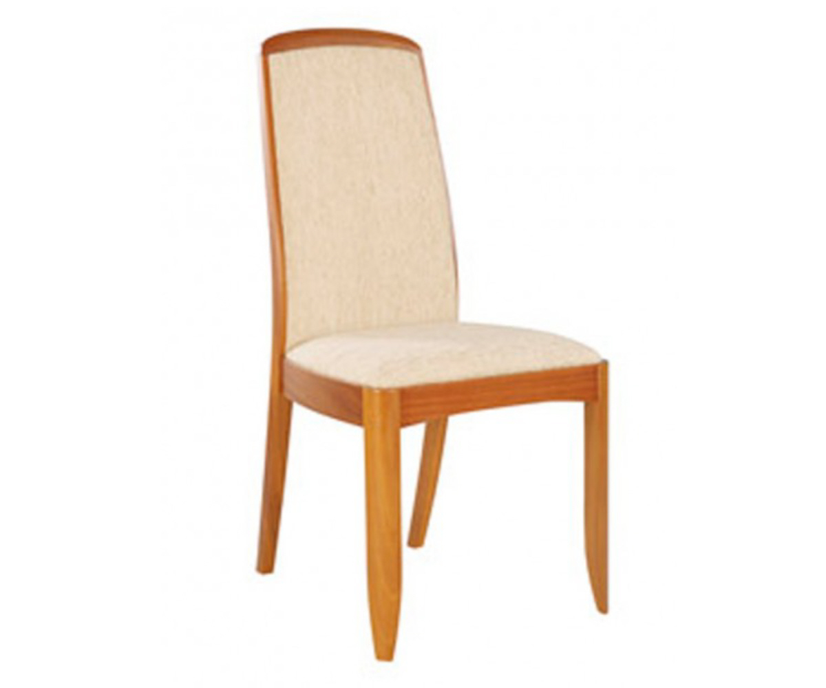 Nathan Classic Teak 3804 Fully Upholstered Dining Chair