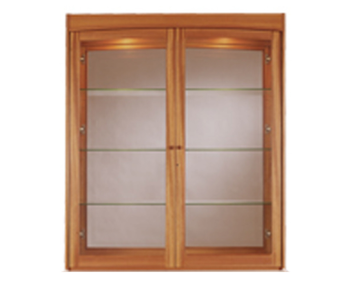Nathan Classic Teak 4064 Glazed Display Top Unit