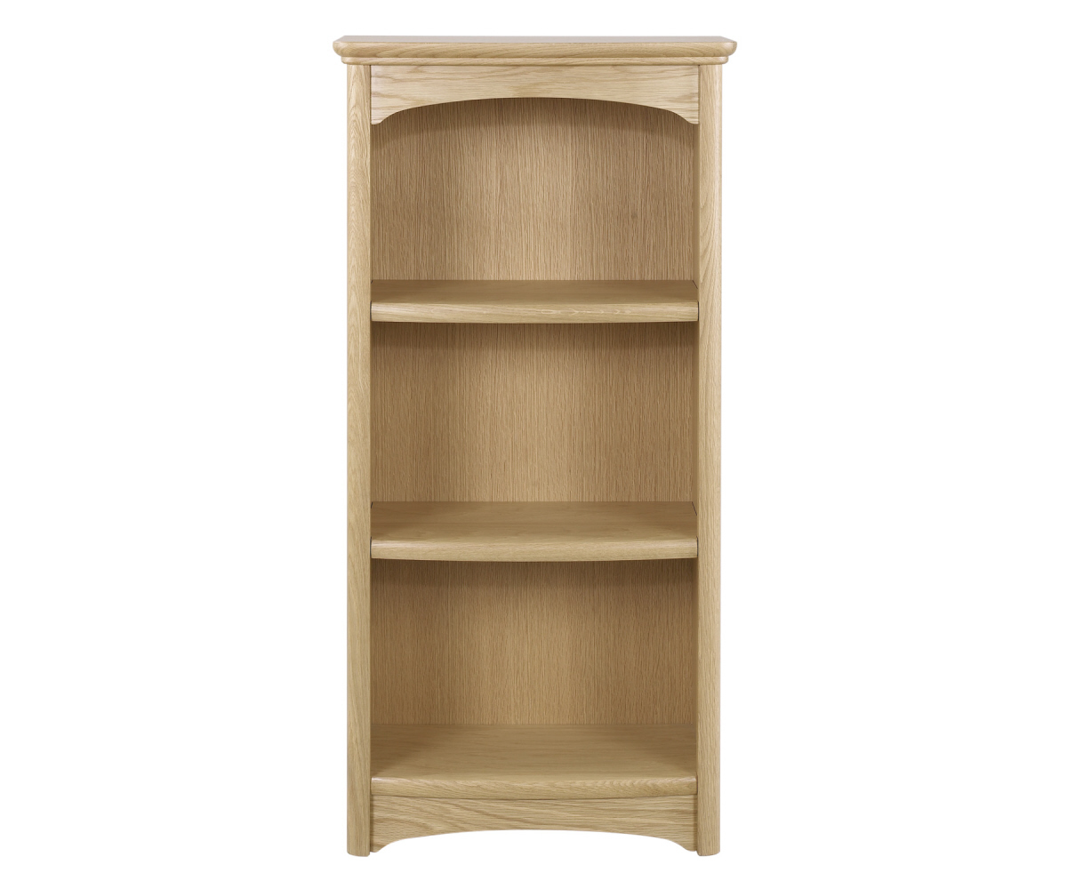 Nathan Editions Oak 8994 Mid Single Bookcase