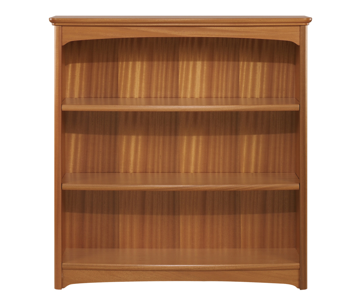Nathan Editions Teak 6993 Mid Double Bookcase
