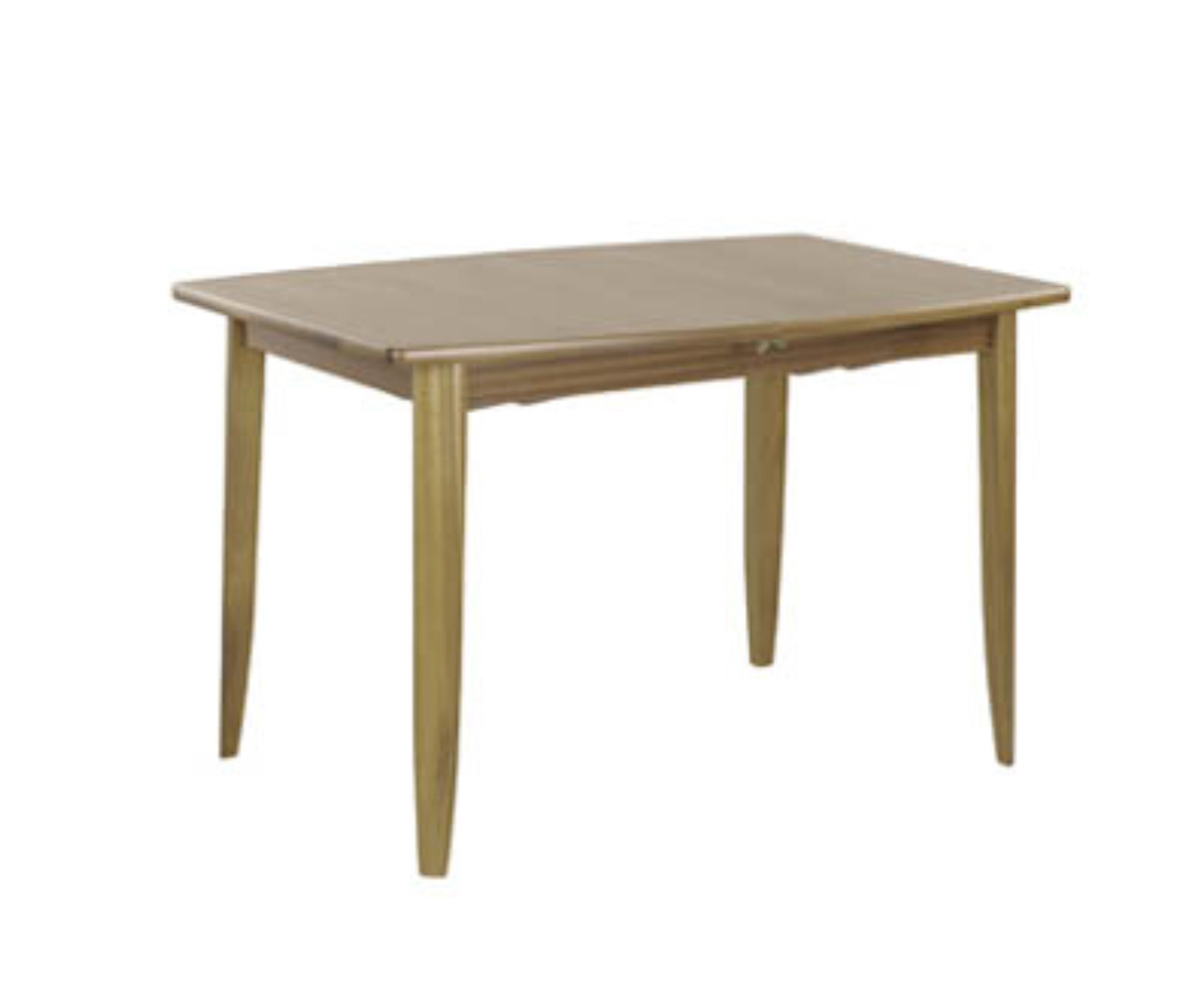 Nathan Shades Oak 2155 Small Boat Shaped Dining Table on Legs