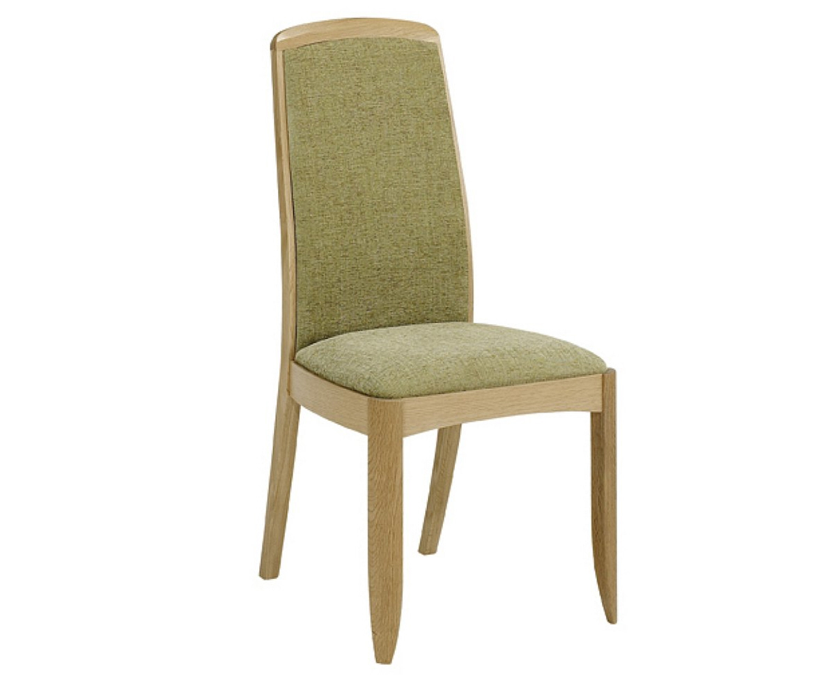 Nathan Shades Oak 3805 Fully Upholstered Dining Chair