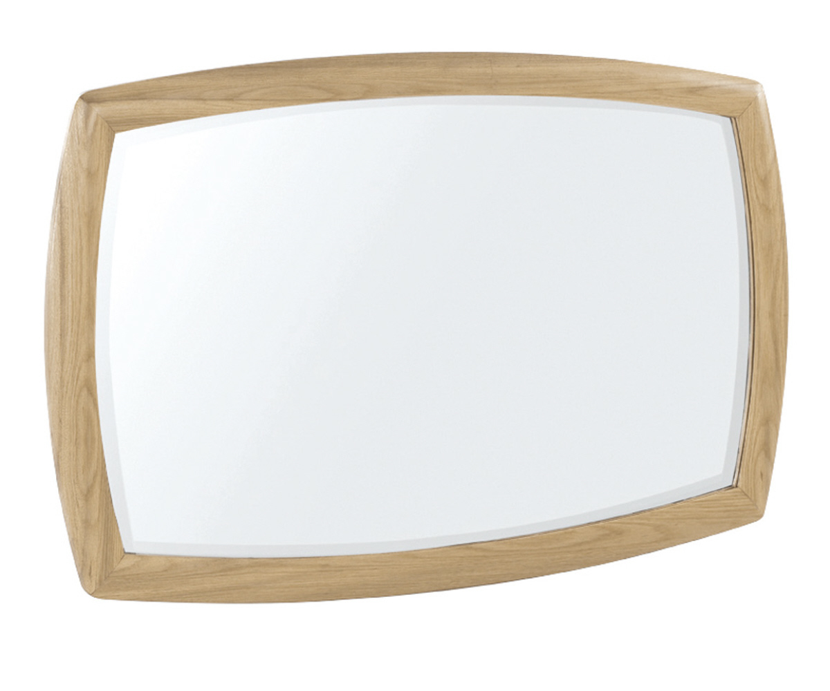 Nathan Shades Oak 5865 Shaped Wall Mirror