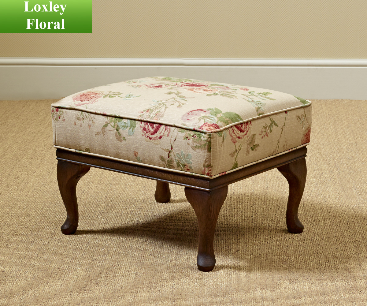 Old Charm Accent Footstool
