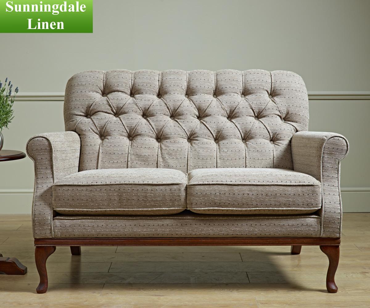 old charm burnham compact 2 seater sofa 2 seater sofa. Black Bedroom Furniture Sets. Home Design Ideas