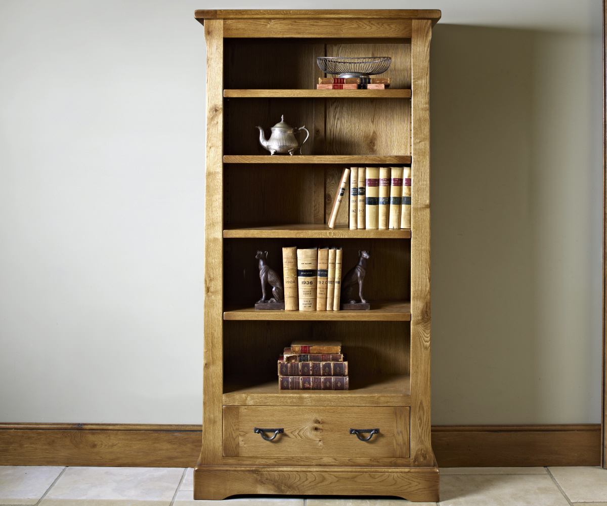 Old Charm Chatsworth 2881 Bookcase with Drawer