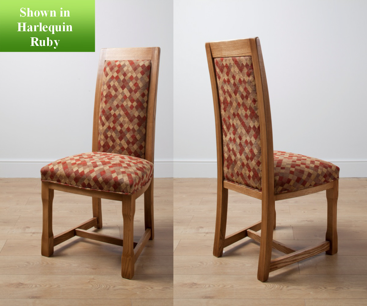 Old Charm Chatsworth Fabric Dining Chair Dining Chairs RG - At clearance prices hertford dining set by wood bros old charm