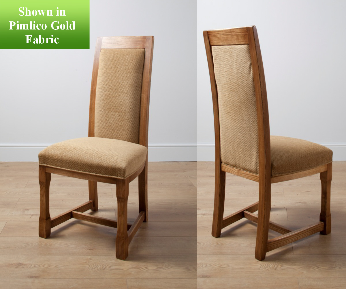 Old Charm Chatsworth 2899 Fabric Dining Chair Dining