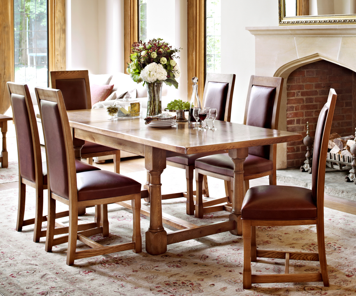 Old Charm Chatsworth 2899h Hide Dining Chair Dining